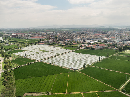 Aerial photography in Ningbo 스톡 콘텐츠 - 109802464