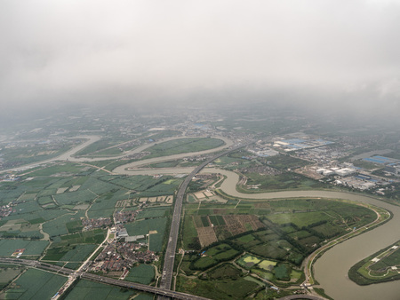 Aerial photography in Ningbo 스톡 콘텐츠 - 109802799