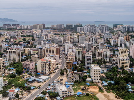 Aerial photography Sanya 스톡 콘텐츠 - 109803117