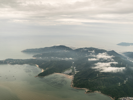Aerial photography Zhuhai 스톡 콘텐츠