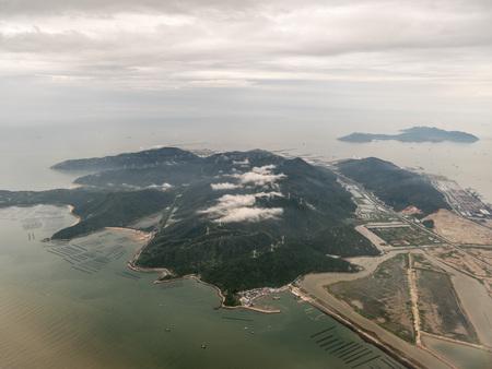 Aerial photography Zhuhai Stockfoto