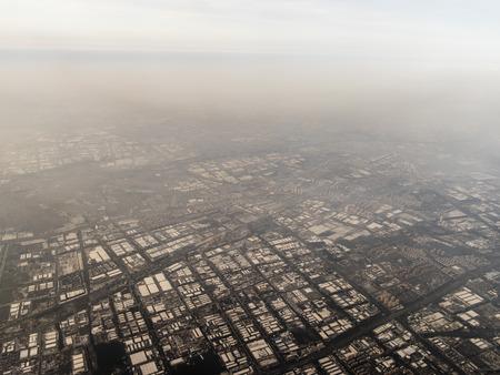 Aerial photograph Suzhou Stock Photo