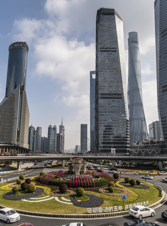 shanghai Financial centre buildings