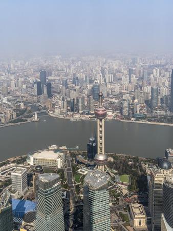 Overlooking Shanghai