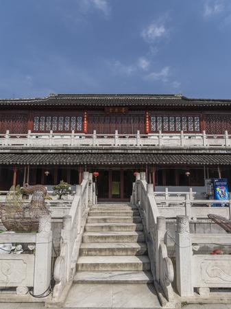 ancient architecture at Suzhou garden