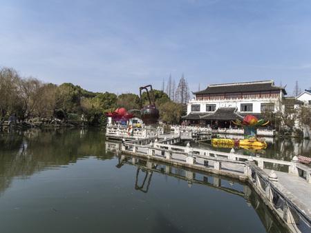 teapot sculpture at Suzhou garden
