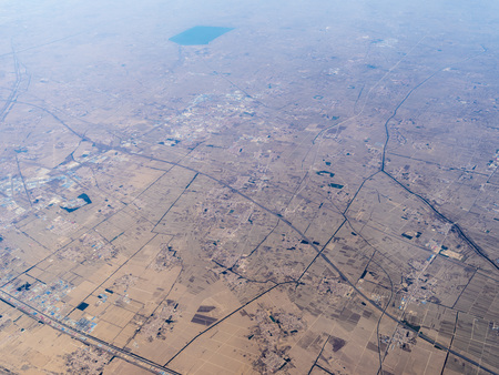 Aerial photography in Hebei