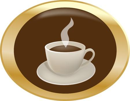 Coffee break button