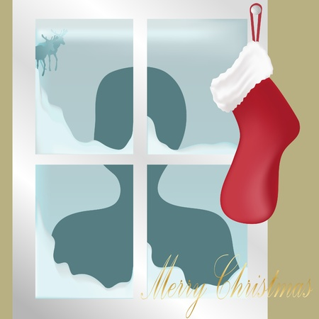Waiting for Santa Stock Vector - 10769580