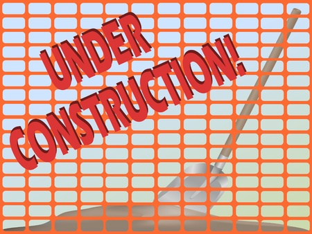 symbol vigilance: Under construction Illustration