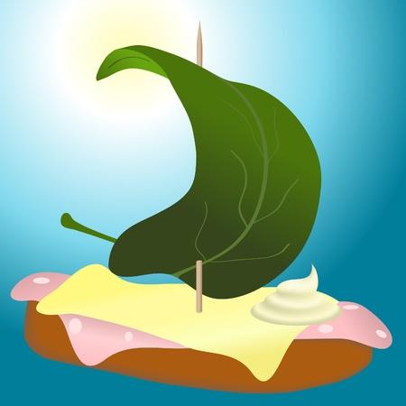 lard: Sailing food