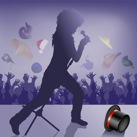 Music connects people Vector