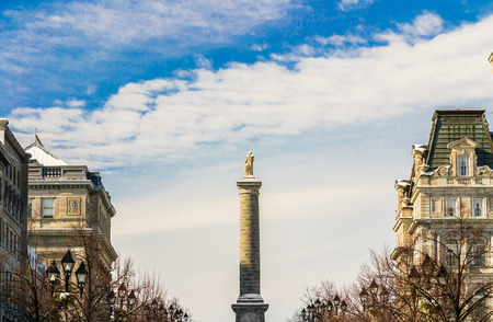nelson: Nelson monument in Montreal