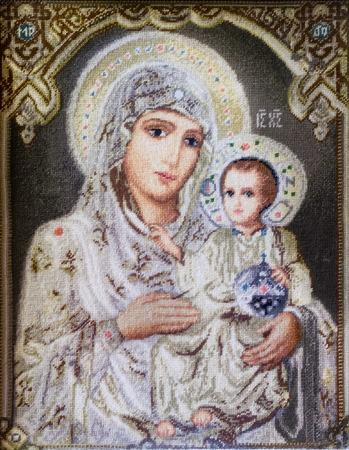 Virgin Marry with Jesus gobelin