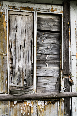 transom: Old abandonned wooden door closeup Stock Photo