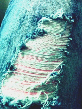 jeans: Ripped jeans
