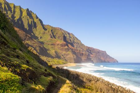 Kalalau Beach on Kauai