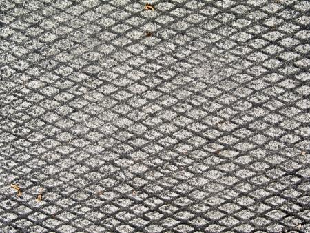 rough diamond: Concrete with rough textured diamond pattern Stock Photo