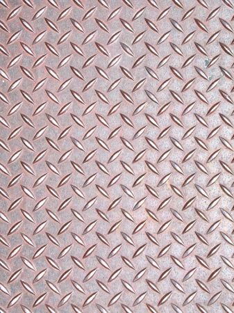 traction: Old Metal stamped diamond plate texture