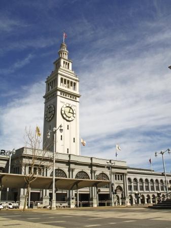 San Francisco Ferry Building Clock Tower Stock fotó - 24759141