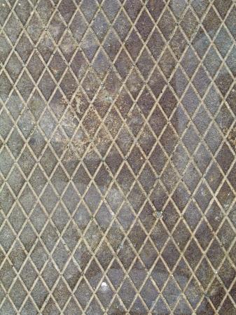 Concrete with rough textured diamond pattern Stock fotó