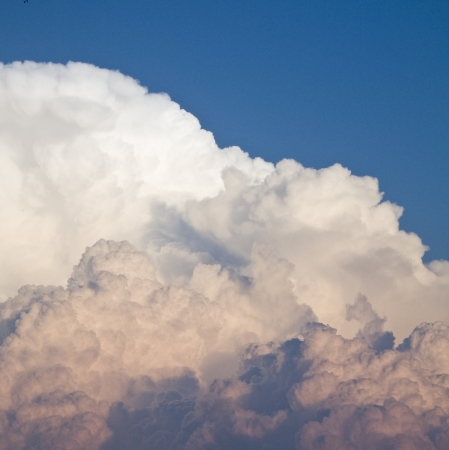 Storm clouds on dark blue sky with clipping path Stock fotó - 24758170