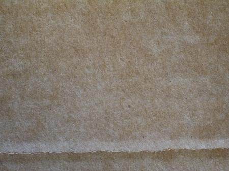 Cardboard with crease