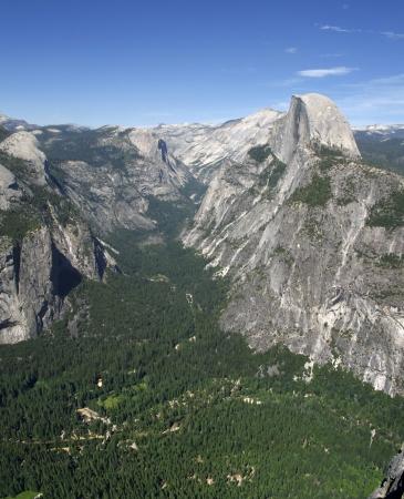 Half Dome towering over Yosemite Valley