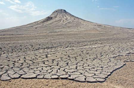 vulcano: Mud vulcano Stock Photo