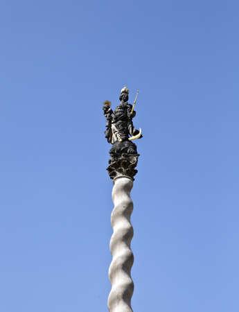 olomouc: protected column in Olomouc, Czech republic