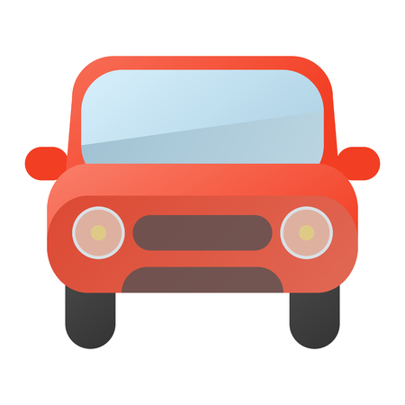 Car Icon Stock. Vector Illustration