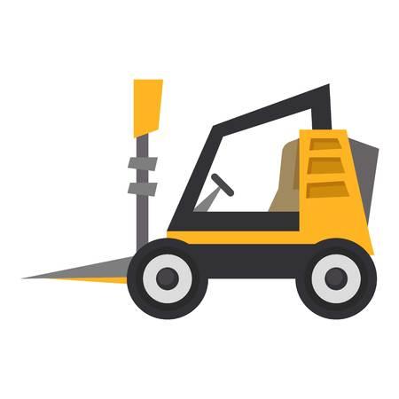 Mini loader icon, flat style