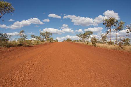 Outback Road, Australia photo