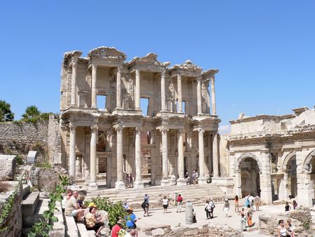 biggest: Image of Ephesus , the biggest city of its time