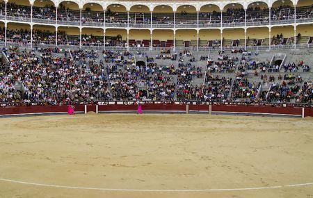 hemingway: Arena of bullfighting Stock Photo
