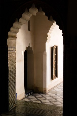 frontage: Doorway, Bahia Palace Marrakech
