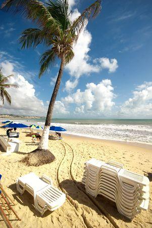 Ponta Negra beach Natal city Rio Grande do Norte State Brazil Stock Photo