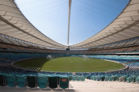 DURBAN - APRIL  5: the Moses Mabhida stadium of Durban, april 5, 2010 Durban, South Africa