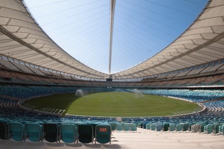 stadium  durban: DURBAN - APRIL  5: the Moses Mabhida stadium of Durban, april 5, 2010 Durban, South Africa