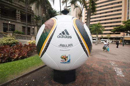 DURBAN - 05 MAY 2010: promotion of the next coming soccer world cup in the city of Durban, may 05 2010 in durban, South Africa