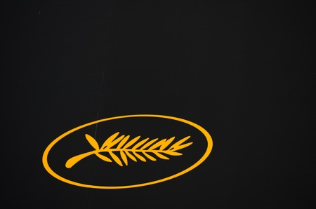 CANNES, FRANCE - MAY 13: palm is the  official logo of Cannes Film Festival on May 13, 2011 in Cannes, France. Editorial