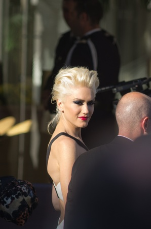 martinez: ANNES, FRANCE - MAY 20: Singer Gwen Stefani is spotted leaving the Martinez hotel on May 20, 2011 in Cannes, France