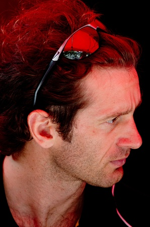 qualify: MONACO, FRANCE-MAY 28: driver team Lotus Jarno Trulli signs autograph to fans at the end of the qualify for the grand prix of monaco on 28th, 2011 of may in Monaco, france
