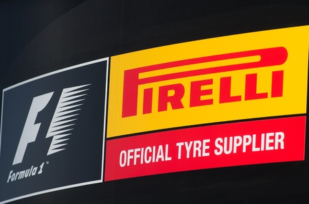 MONACO, FRANCE-MAY 29: pirelli symbol photographed at the  the grand prix of monaco on 29th, 2011 of may in Monaco, france