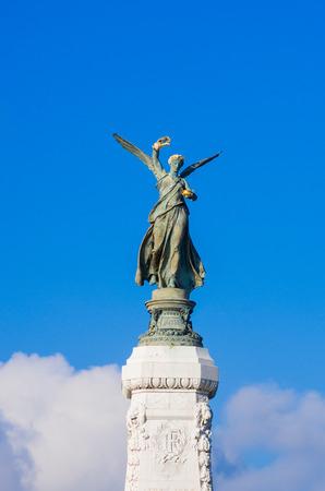 tage: Statue La Ville de Nice a la France, Nice, Alpes-Maritimes, Provence-Alpes-Cote dAzur, Southern France, France, Europe