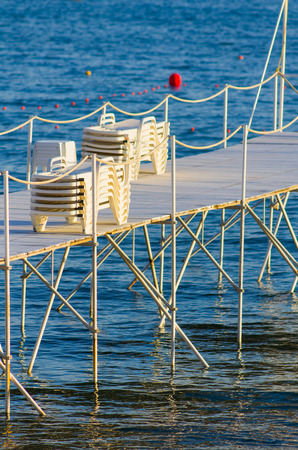 vacance: Beach of Cannes France, French Riviera, Europe