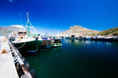 Daytime View langs Hout Bay, Cape Peninsula, West Kaap Provincie, Zuid-Afrika