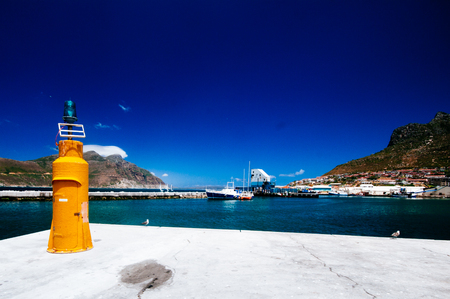 chapmans: Daytime View along Hout Bay, Cape Peninsula, West Cape Province, South Africa