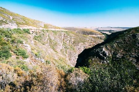Tradouw Pass in der Nähe von Barrydale Western Cape Südafrika