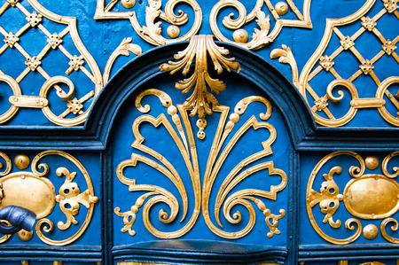 Wroclaw Old Market barocco door, 슬레시아, 폴란드 스톡 콘텐츠